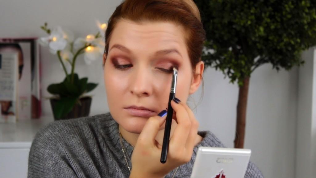 maja romantični makeup